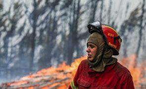 Fogo na Sertã está dominado e não ameaçou povoações