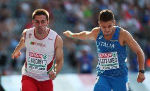 Estafeta de Portugal na final dos 4x100 metros do Europeu de Atletismo