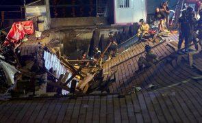 Mais de 260 feridos em queda de plafaforma em Vigo