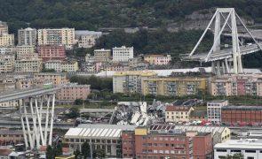 Balanço provisório de pelo menos 30 mortos no colapso da ponte em Génova