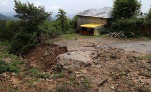 Pelo menos 16 mortos devido a fortes chuvas no norte da Índia