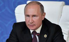 Putin volta a convidar Kim Jong-un para cimeira Rússia-Coreia do Norte