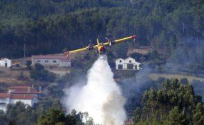 18 concelhos de 5 distritos do País com risco máximo de incêndio