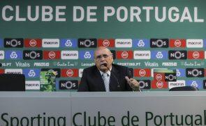 Sousa Cintra agastado com «palhaçada» de Bruno de Carvalho