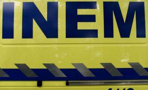 Colisão entre dois veículos ligeiros provoca um morto em Sátão, Viseu