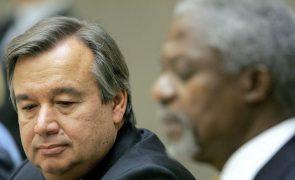 António Guterres lembra Kofi Annan como