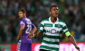 Sporting vence Vitória de Setúbal com 'bis' de Nani [vídeo]