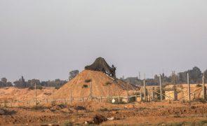 Israel fecha a passagem com a Faixa de Gaza