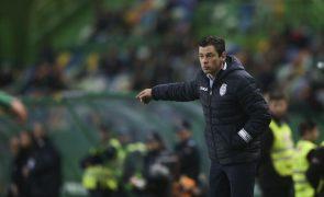 Nuno Manta Santos quer Feirense com postura de conquista em Guimarães