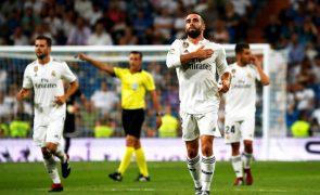 Real Madrid vence o Getafe no arranque da Liga com golos de Carvajal e Bale