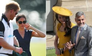 George Clooney recebe lua-de-mel do Princípe Harry e Meghan Markle