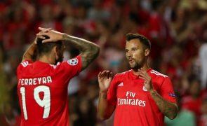 Benfica empata 1-1 com PAOK Salónica
