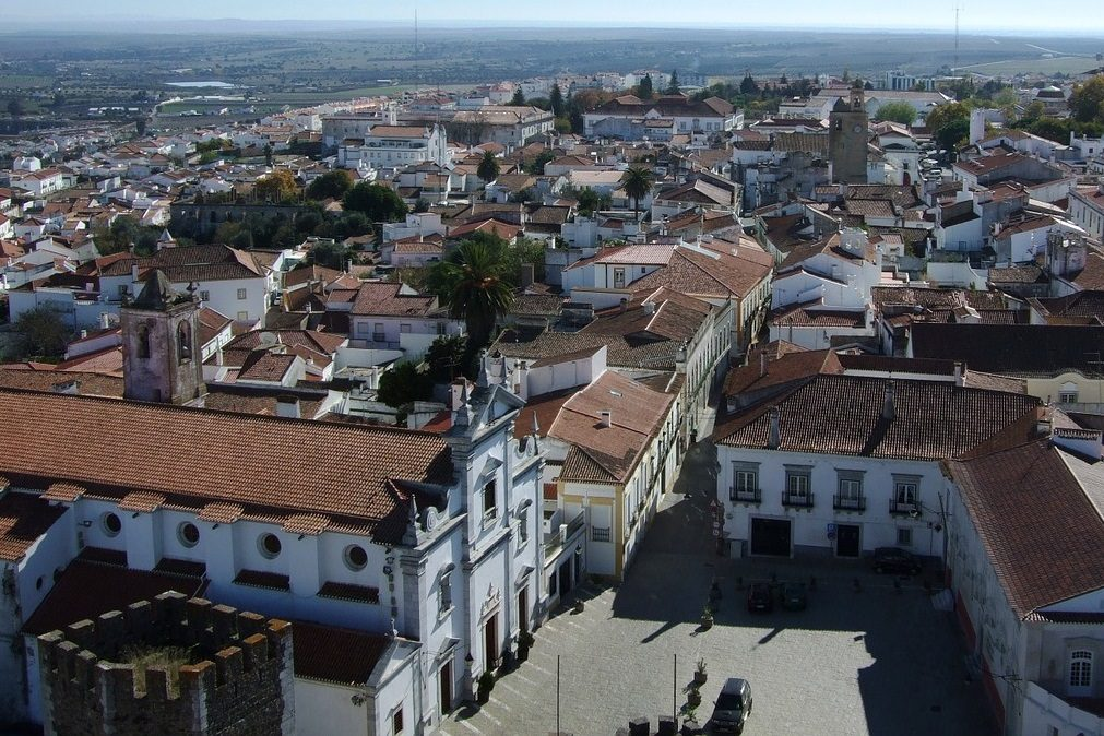 Beja vista da Torre do castelo