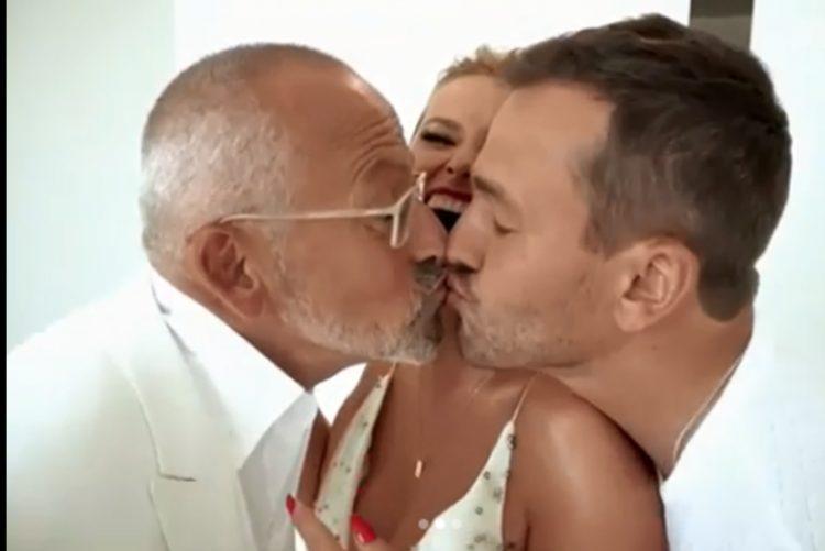Goucha beija Pedro Teixeira na boca: «Isto vai ser o fim da minha relação com o Rui»