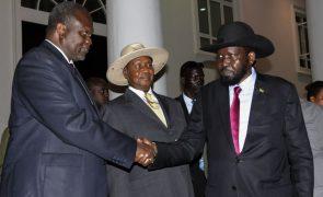Presidente e oposição do Sudão do Sul assinam acordo de paz