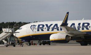 Greve na Ryanair dia 28 de setembro