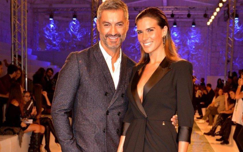 Vítor Baía e Andreia Santos estão noivos