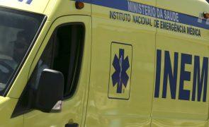 Porto: Carro vai contra um prédio e faz um morto