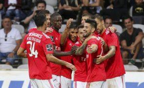Benfica recebe Rio Ave, Sporting de Braga o Tondela na Taça da Liga em futebol