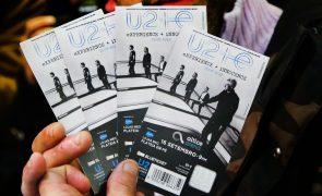 Promotora coloca à venda mais bilhetes para os concertos dos U2 em Portugal