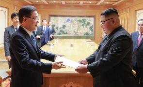 Terceira cimeira entre Coreias começa terça-feira para fazer avançar desnuclearização