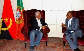 Costa confiante num novo clima de confiança nas relações luso-angolanas