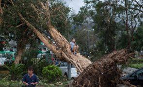 Autoridades de Macau suspendem todos os alertas de tempestade tropical
