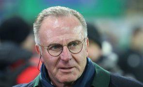 Liga dos Campeões: Presidente do Bayern Munique pede proteção aos árbitros
