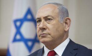 Netanyahu diz a Putin que vai continuar a combater presença militar do Irão