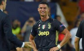 Ronaldo chora depois de ser expulso de jogo [vídeo]