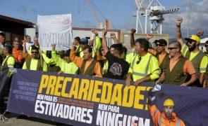 Sindicato dos estivadores promove hoje manifestação em Lisboa