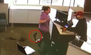 O roubo mais patético da história torna-se viral [vídeo]