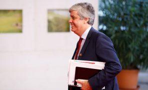 Ministro das Finanças diz que será cumprido défice de 0,7% do PIB este ano