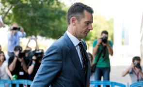 Espanha: Cunhado do rei já se apresentou na prisão para cumprir pena