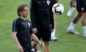 Luka Modric chega a acordo com justiça espanhola na acusação de fraude fiscal
