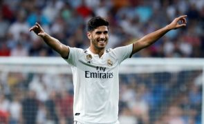 Asensio coloca Real Madrid na liderança provisória em Espanha
