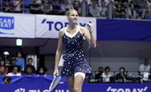Tenista Karolina Pliskova vence em Tóquio e põe fim a série vitoriosa de Osaka