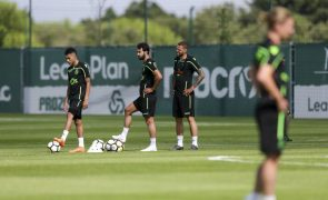 Marcelo e Castaignos chamados para deslocação a Braga, Mathieu ausente