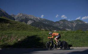 Van Vleuten vence 'crono' feminino em pódio holandês dos Mundiais de Ciclismo