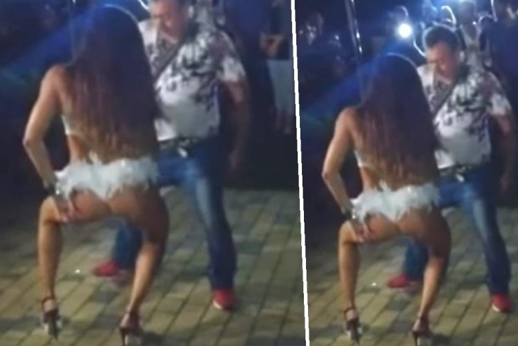 Diverte-se com stripper e é apanhado pela mulher [vídeo]