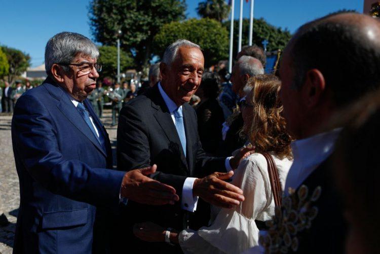 Marcelo elogia combate a incêndio em Sintra e Cascais que superou todas as expectativas