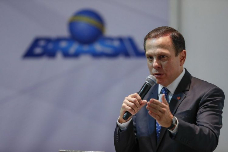 João Doria, candidato ao governo de São Paulo, vai apoiar Bolsonaro na segunda volta