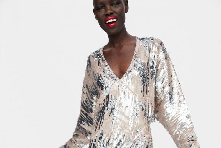 Zara tem o vestido perfeito para usar no natal ou passagem de ano