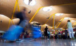 Capturado em aeroporto de Madrid suspeito de liderar grupo criminoso em Portugal