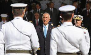 Presidente da República realça que Forças Armadas são motivo de orgulho