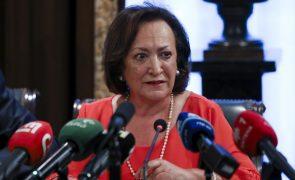 Joana Marques Vidal favorável a audição pública no Parlamento de nome indicado para Procurador-geral