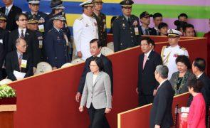 Presidente de Taiwan acusa China de promover conflitos e reafirma soberania