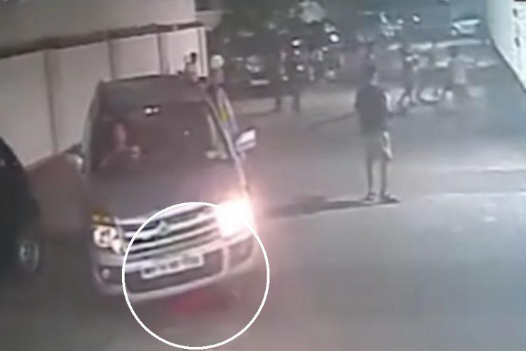 Menino atropelado sobrevive por milagre [vídeo]