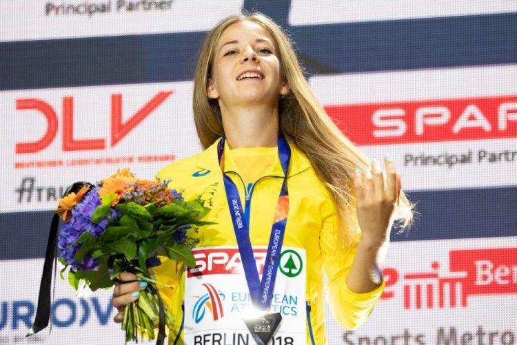 Ucraniana Alina Tsviliy suspensa por teste positivo de trimetazidina