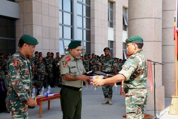 PR timorense defende renovação do mandato do comandante das forças armadas